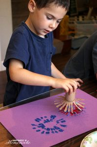 Fireworks-Painting-July-4th-Kids-Craft