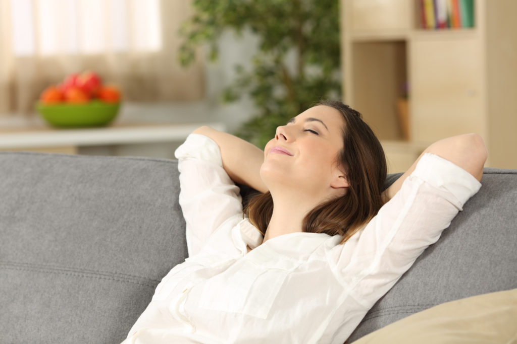 Dry indoor air